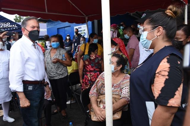 Que cumplan fecha y horario para vacunas, solicita presidente Cortizo Cohen