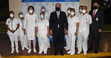 Se brinda reconocimiento a los Técnicos de Enfermería por el desempeño durante la pandemia