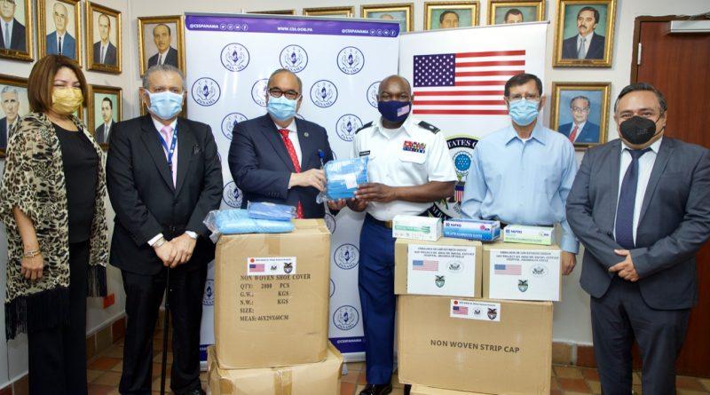 CSS recibe colaboración por parte de la Embajada de Estados Unidos