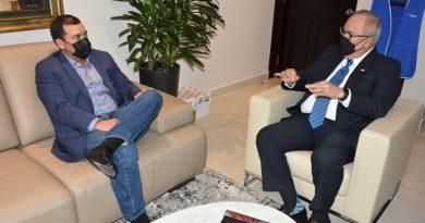 Director del Metro de Panamá se reúne con Dr. Lau Cortés