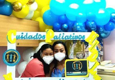 Colaboradores de Cuidados Paliativos del HIDLT conmemoran su mes